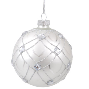 ORNAMENT SMOOTH SILVER