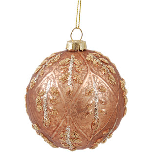 ORNAMENT HOLIDAY GOLD