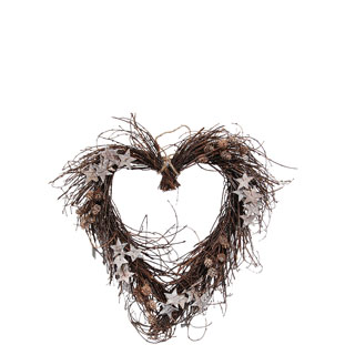 WREATH HEART FREJA