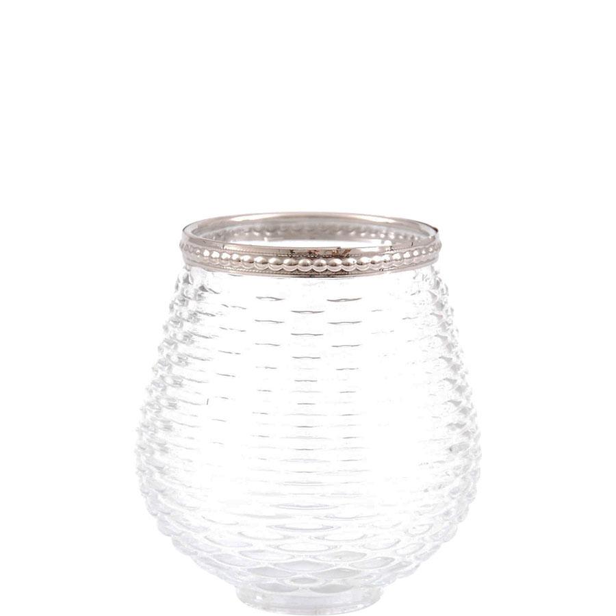 ljuslykta glas hängande