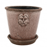 POT LION LARGE PURPLE