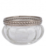 CANDLE HOLDER SILVEREDGE