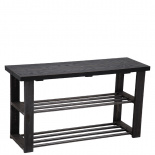 SHOE STAND TRIBECA BLACK