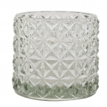 CANDLE HOLDER EMMA LARGE CLEAR