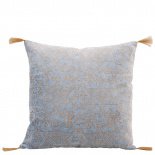 CUSHION COVER MELANIE 45X45 BLUE