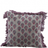 CUSHION COVER MINDY 45X45 PURPLE