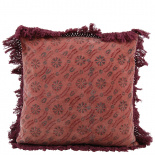 CUHSION COVER MINDY 45X45CM BURGUNDY