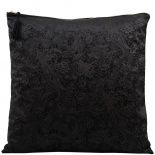 CUSHION COVER AZAY 45X45CM BLACK