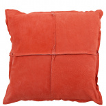 CUSHION COVER PARIS SUEDE 45X45CM CORAL