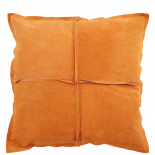CUSHION COVER PARIS SUEDE 45X45CM COGNAC