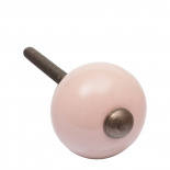 KNOB RONDES SMALL PINK