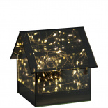LED LAMP GLASS COTTAGE SMALL