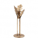 CANDLE HOLDER GOLDEN OAK SMALL