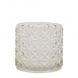 CANDLE HOLDER EMMA SMALL CLEAR