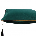 CUSHION COVER CHAMBORD 45X45CM DARK GREEN